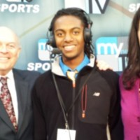 (L-R) Jack Connors (Play-By-Play), Brandon Washington (Voiceover), Tiffany Ervin (Sideline)