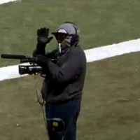 Deion on Sideline Camera