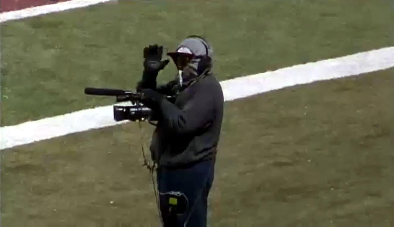 Deion on Sideline Camera
